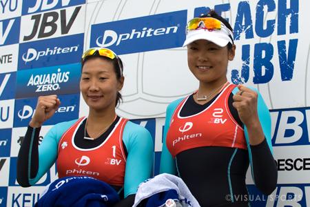 愛知オープン最終日 田中、鈴木ペアが優勝