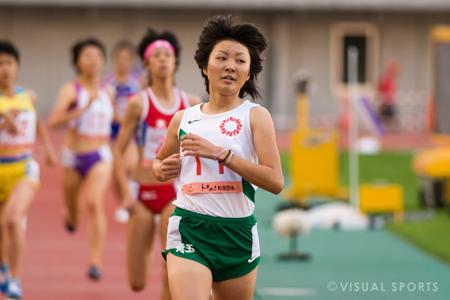 少年女子A800m、真下が埼玉高校新で優勝